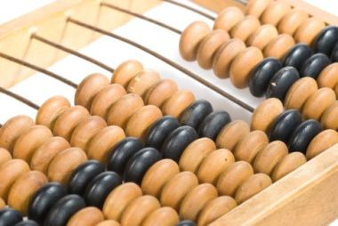 Old chinese abacus