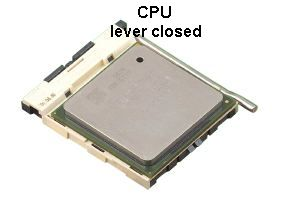 CPU lever closed socket 478 PGA