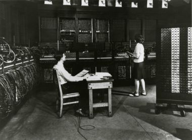 History of computers - eniac image