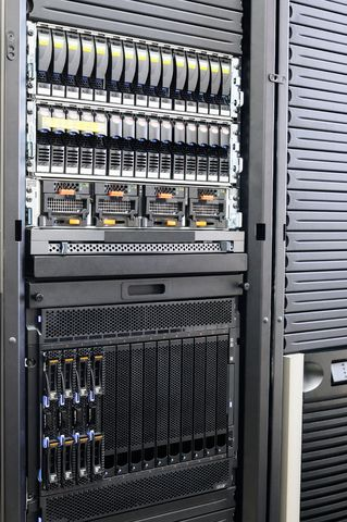 Types of computers servers