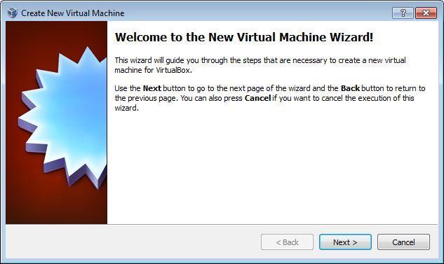 Vbox new init