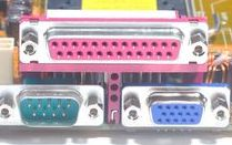 Vga Serial ports