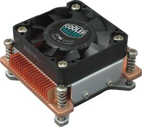 CPU heatsink and fan