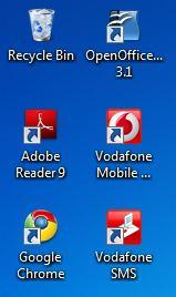 Windows 7 icons