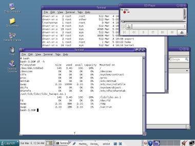 solaris 10 java desktop