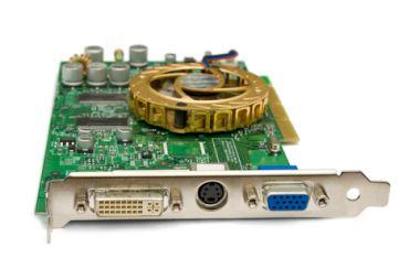 VGA DVI ports